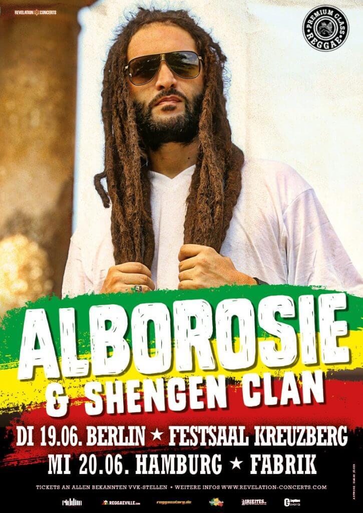 Alborosie – Tour durch Deutschland