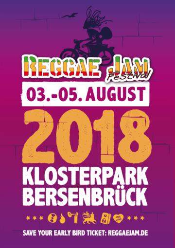 Das Reggaejam Festival feiert sein 25 jähriges Jubiläum
